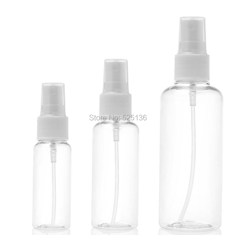 5pcs Portable Spray Bottle 30ml 50ml 100ml Empty Perfume Bottles Refillable Mist Pump Perfume Atomizer Travel Accessories