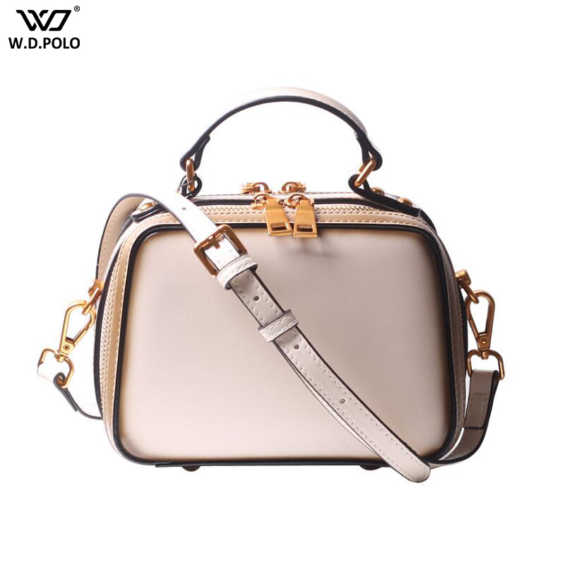 New Women Leather Handbags Vintage Small Size Zipper Shoulder Bags For Lady High Capacity Crossbody Bag C674New Women Leather Handbags Vintage Small Size Zipper Shoulder Bags For Lady High Capacity Crossbody Bag C674