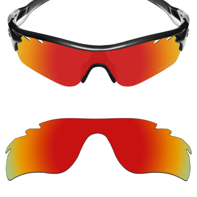 HKUCO Plus Mens Replacement Lenses For ksoVojw1wB Radar Path-Vented Sunglasses Black Polarized Bmpv58cd