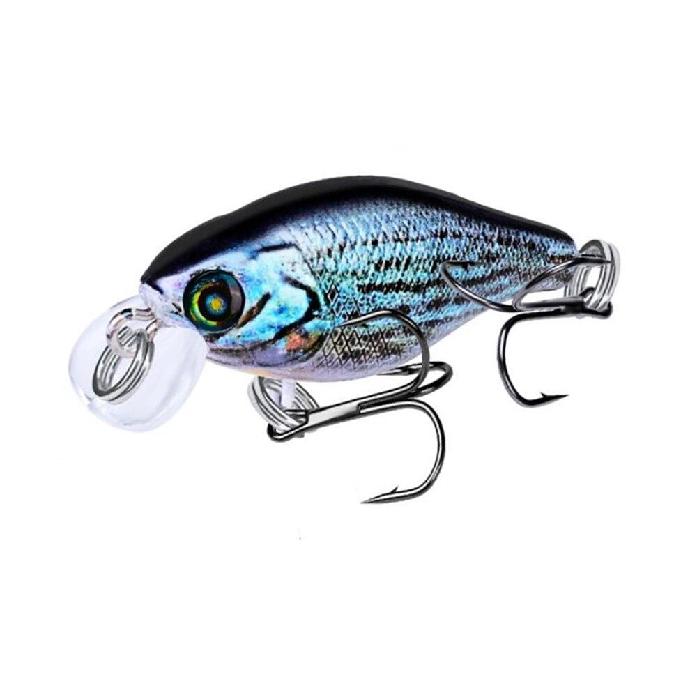 af04d7ba0e5 1 pcs/lot Fishing Accessories Crankbait Fishing Lure 45mm 4g Topwater Swim  Fish