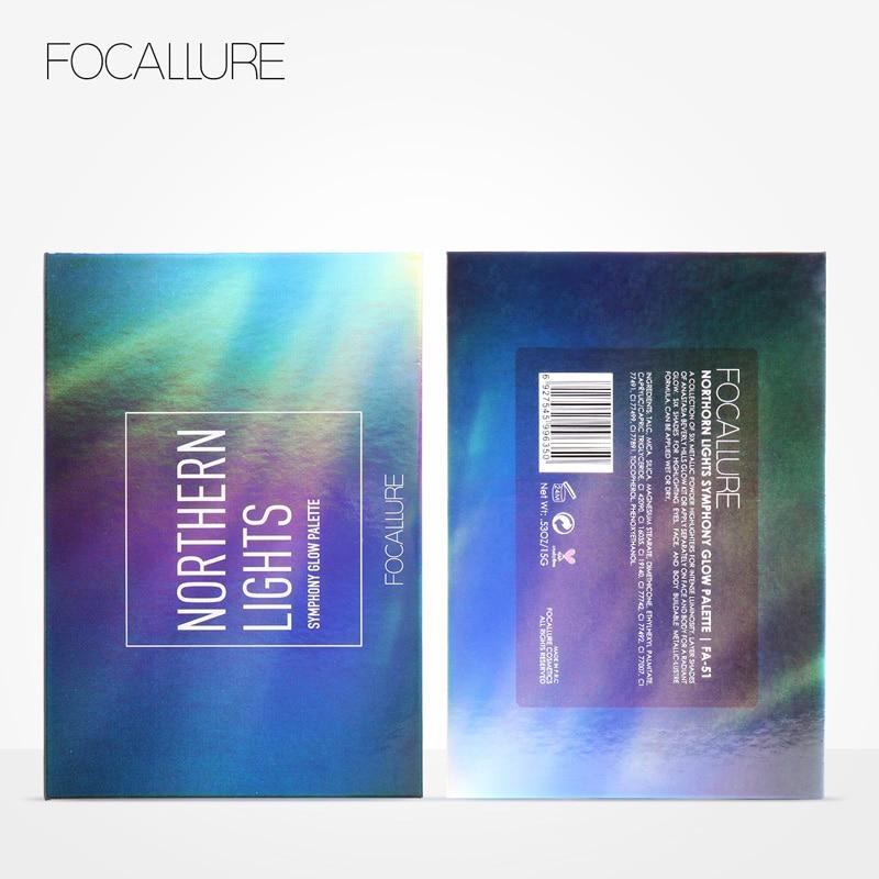 Focallure Highlighter Макияж Бояуы Палитрасы - Макияж - фото 3