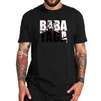 John Wick T Shirt Movie Homme BABA YAGA Printed Creative Design Tops Casual Short Sleeve Breathable Tees EU Size 100% Cotton