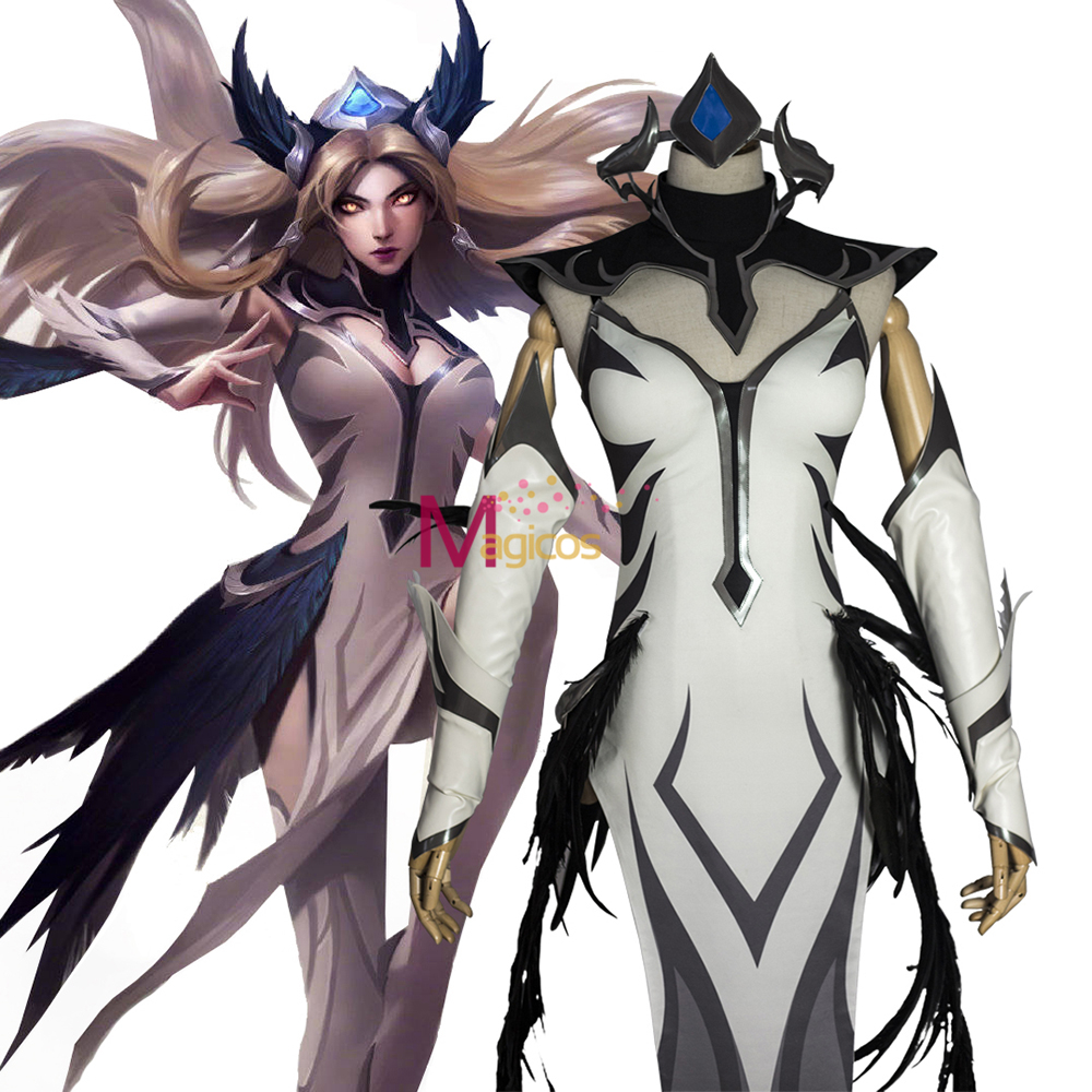 Game LOL Irelia Cosplay Costume IG Champion Skin Leather Jumpsuits Uniform Sexy Christmas Halloween Costumes For Women
