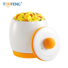 TOPFENG Ceramic Egg Micro Cooker Egg-Tastic Microwave Egg Cooker and Poacher for Fast and Fluffy Eggs