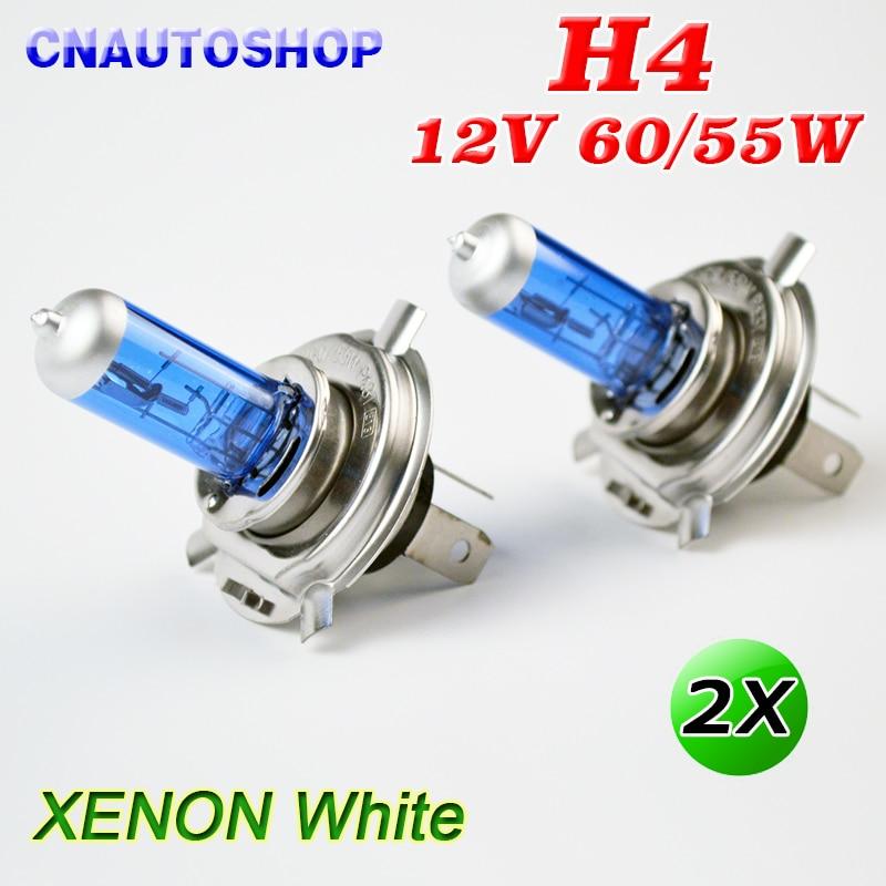 H4 Halogenlampe 12 V 60/55 Watt Super White Auto Nebelscheinwerfer
