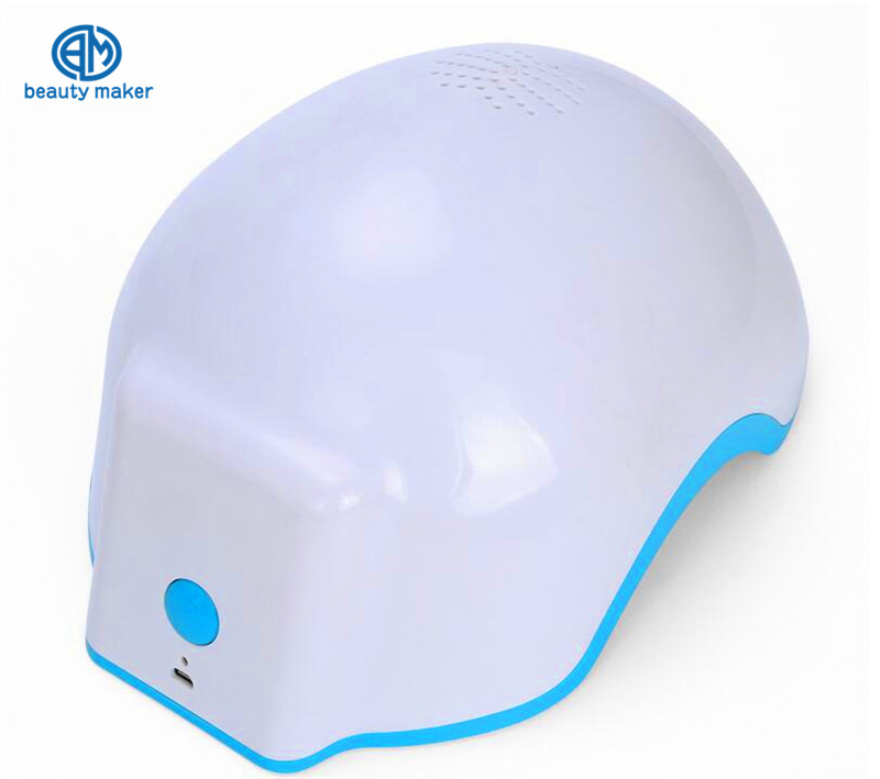 Infrared Hair Regrow Laser Helmet Prevent Loss Hair Fast Regrowth Laser Treatment For Men and Women Anti Hair Loss Free Shippng