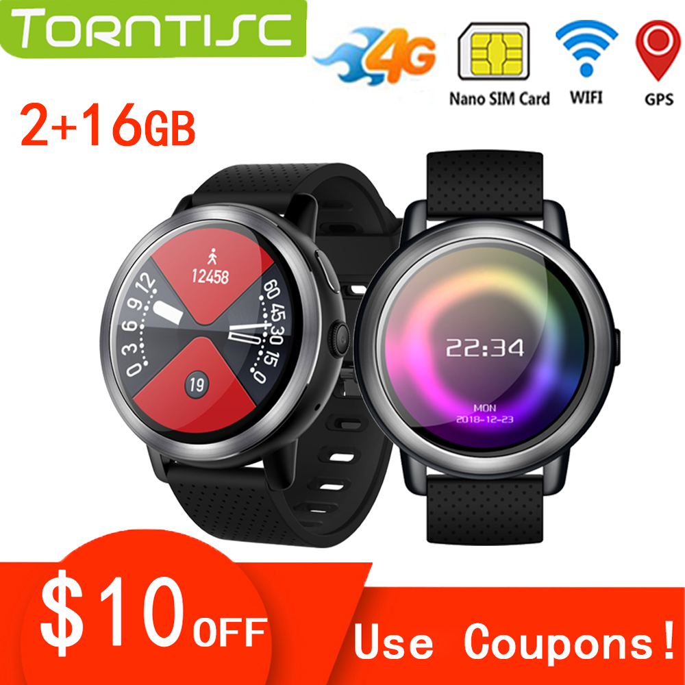 Torntisc 1 39 inch 4G Smart Watch Android For Men Women Support GPS WiFi SIM Card