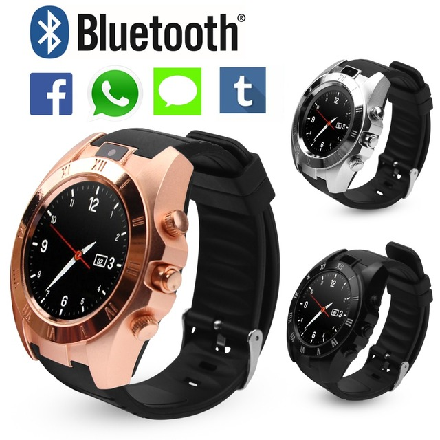 Cawono S5 Bluetooth Smart Watch Relogios Smartwatch Wearable Devices Smart Electronics for Apple iPhone Android Phone VS DZ09 Y1