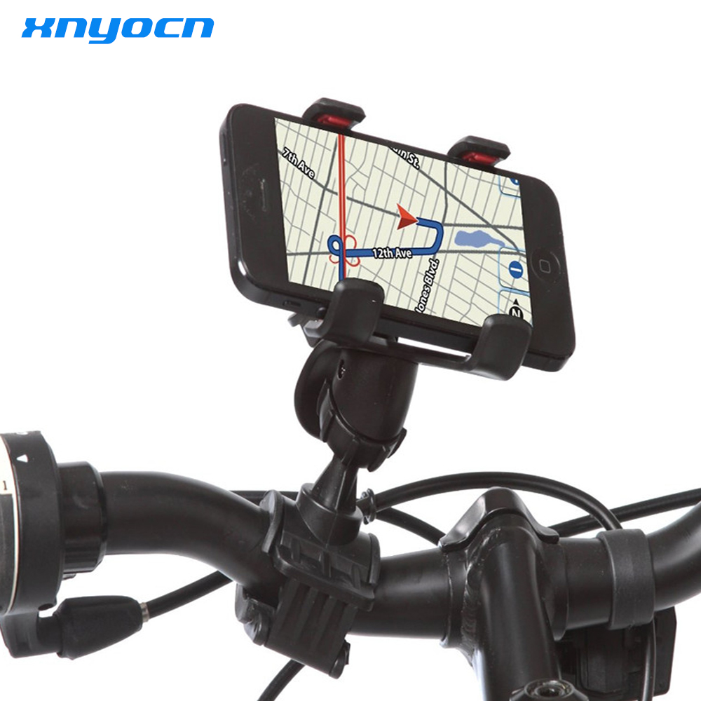 Xnyocn Universal Motorcycle MTB Bike Bicycle Handlebar Mount Holder for Ipod Cell Phone GPS Bicycle carrier cell phone holder image