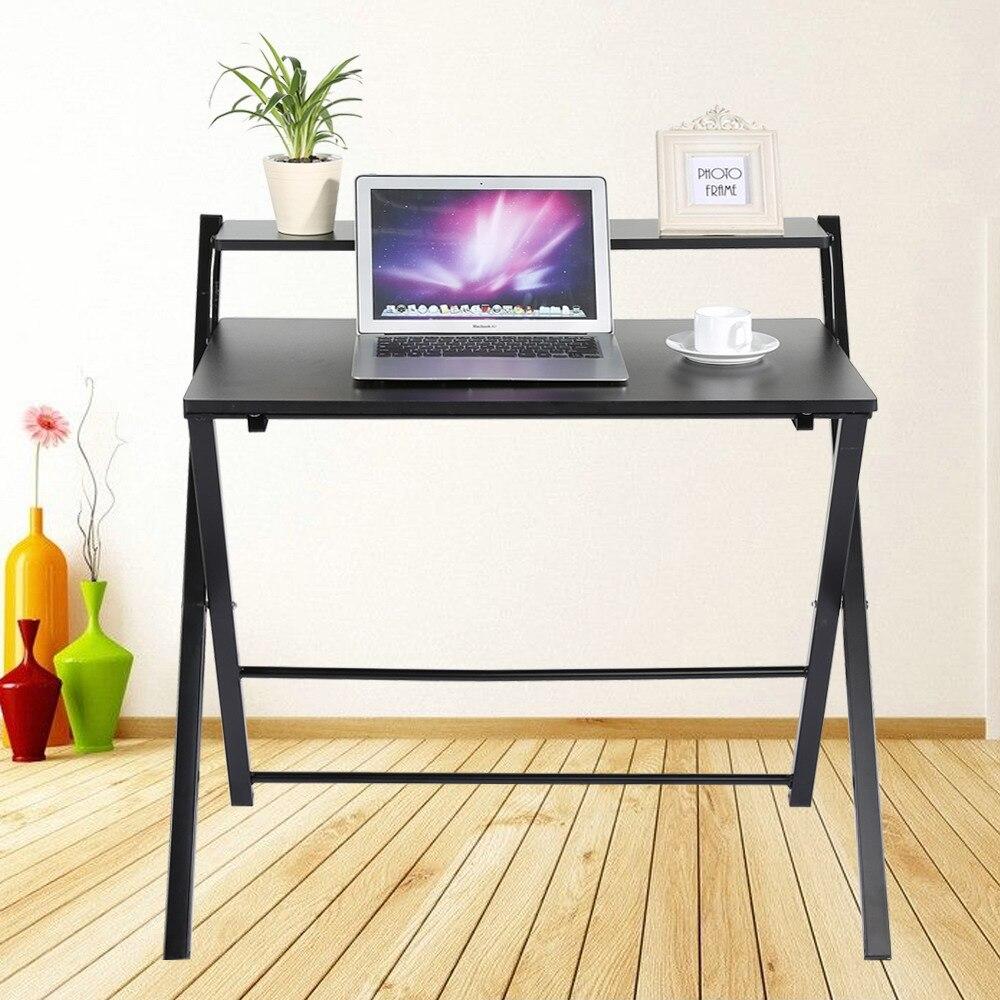 - Hot Sale Foldable Computer Desk Folding Laptop PC Table Home