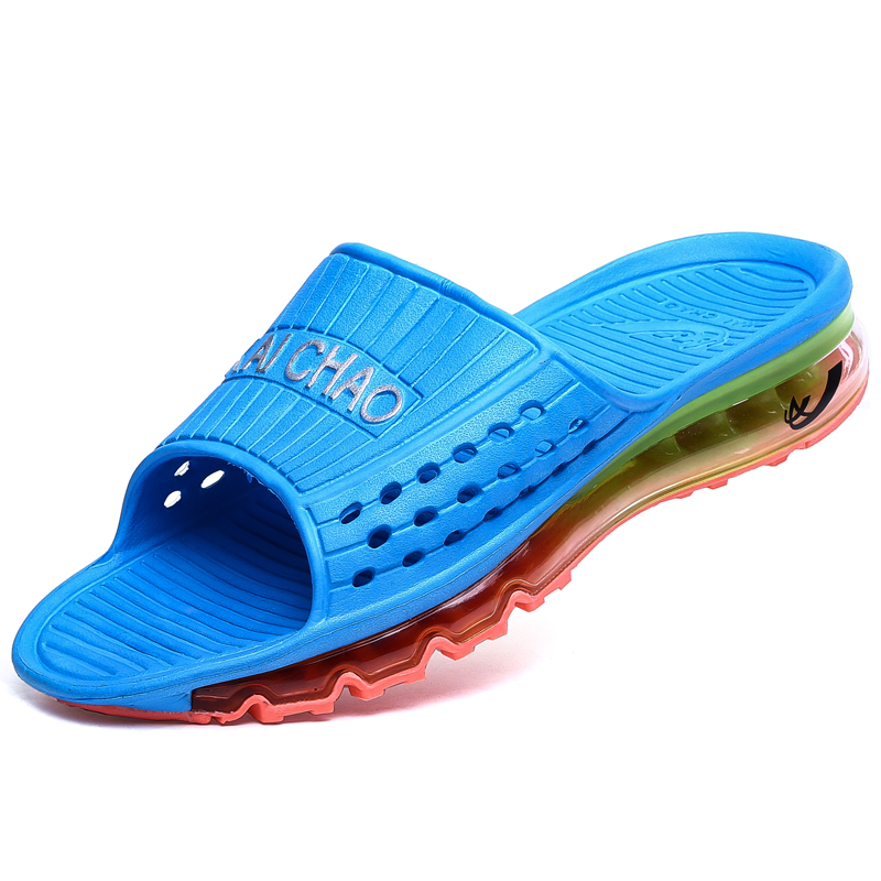 a29796d84fa New Color Men s Sandals outdoor Fashion Summer slippers Casual Leisure Soft  air sport Beach sandals Men summer shoes