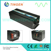 DC to AC convert DC 12V/24V/48V to AC output pure sine wave power inverter 5000W 5KW Off grid Tie system TEP 5000W