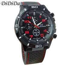 1PC Quartz Watch Men Military Watches Sport Wristwatch Silicone Fashion Clock Free Shipping wholesale relogio masculino J9