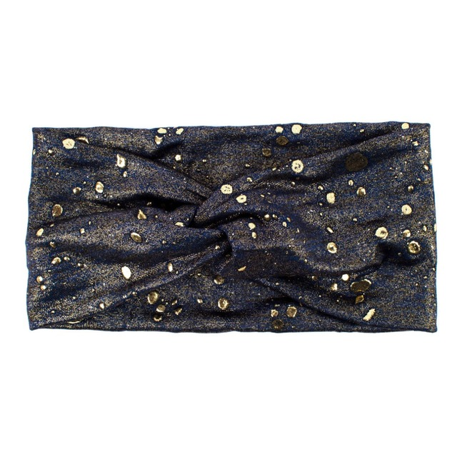 Women's Golden Confetti Wide Yoga Headband  3 styles