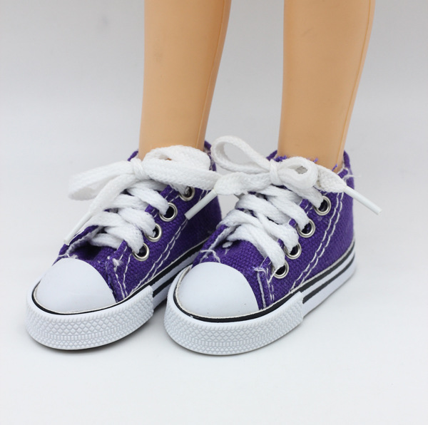 New Fashion Baby Born Doll Shoes Sport Style Shoes Canvas Shoes Fits 43 cm Zapf Dolls Baby Born and 16 American Girl 13 BJD (13)