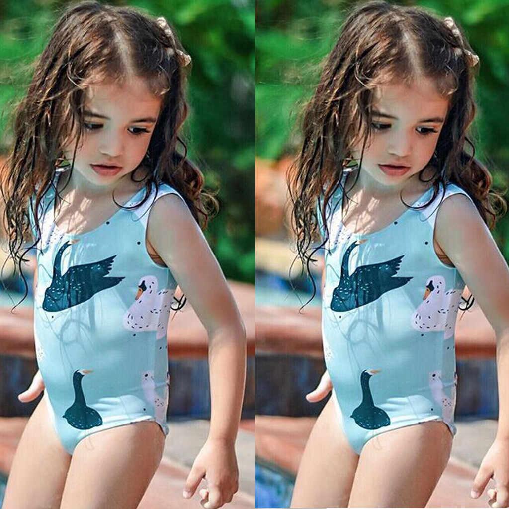 Toddler Baby Girl Boy 3D Cartoon Beach Swimwear Children Swimsuit Bathing Suits