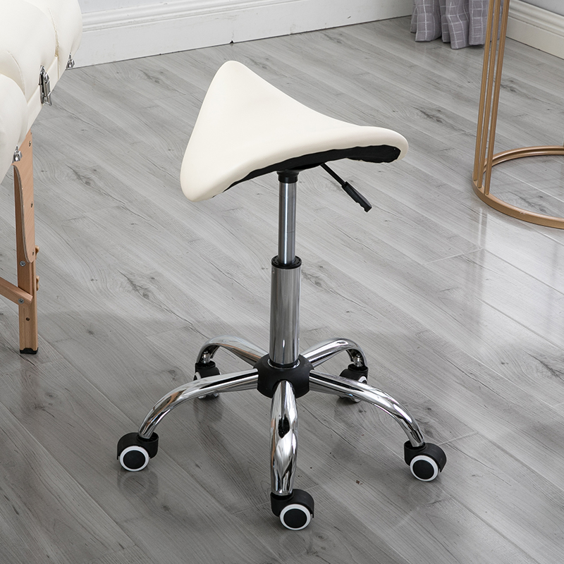 Simple Design Salon Chair Beauty Technician Stool Liftable Adjustment Saddle Chairs Swivel Beauty Salon Makeup Chair