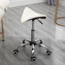 Simple Design Salon Chair Beauty Technician Stool Liftable Adjustment Saddle Chairs Swivel Beauty Salon Makeup Chair(China)