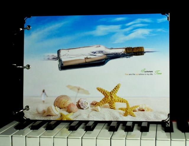 Adrift bottle diy handmade photo album graduation gift