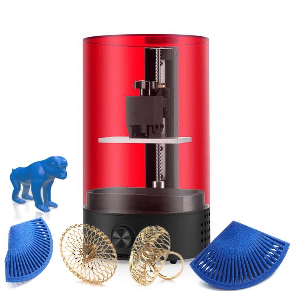 SLA 3D Printer Plus Size UV LCD High Precision 3D Print Photosensitive Resin SLA Home Dentistry