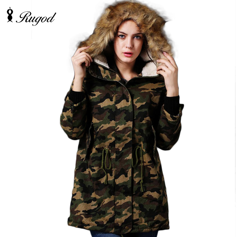 ФОТО Winter Jacket Women Parka 2017 New Fashion Korean Camouflage Jackets and Coats Thick Outerwear Plus Size Ladies long Coat