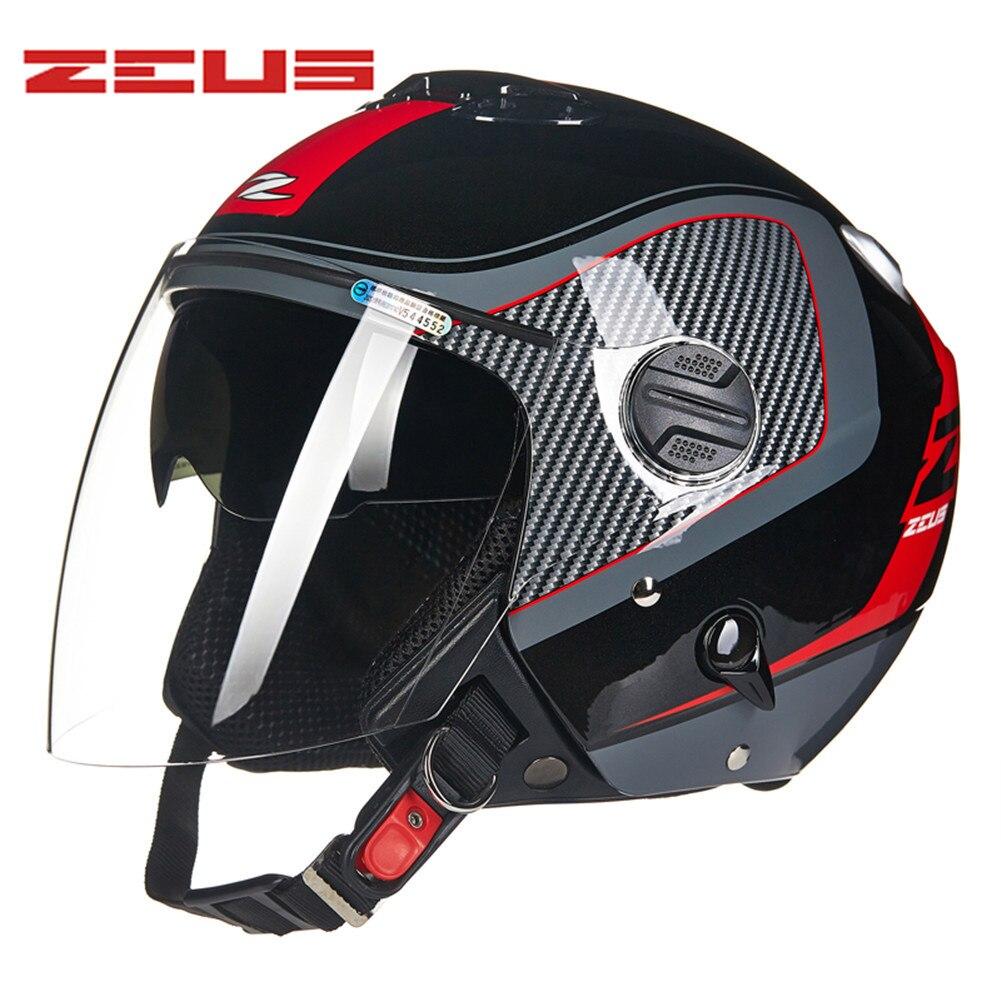 цена на DOT Approved Motorcycle Helmet Dual Visors Open Face Capacete Da Motocicleta Cascos Para Moto Casque 20219 Kask Helm Helmets