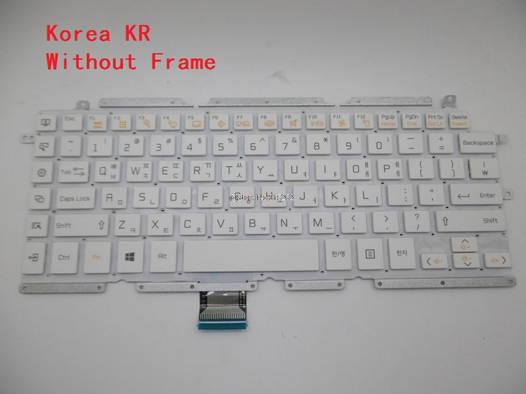 Keyboard For LG 13Z930 13Z930 G 13Z935 LG13Z93 Z360 Z360 G Z360 M ZD360 ZD360 G Z360 L LGZ36 V138967AK1 V138967AS1 AEW73409901-in Keyboards from Computer & Office