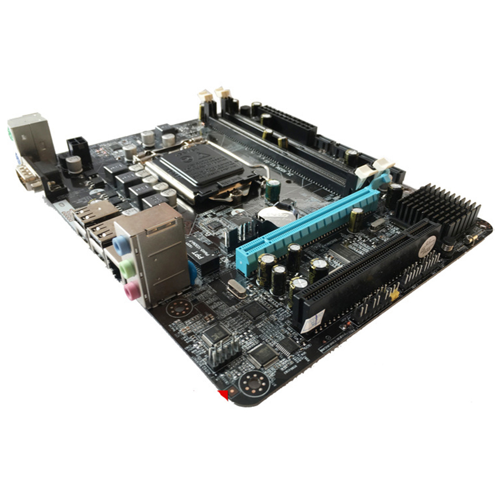 P55-1156 Parts CPU Gaming Computer Mainboard High Performance Accessories Desktop USB Powerful Support Interface 6 Channel