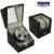 Caixa de relógio enrolador JAPÃO MABUCHI motor carretel enrolador 2 Automático watch winder cadeia Assista mostrar caso