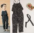 2017 Girls Rompers Clothes Kids Girls Harness Heart-shaped Piece Clothing Set  Kids Summer Jumpsuit Clothes
