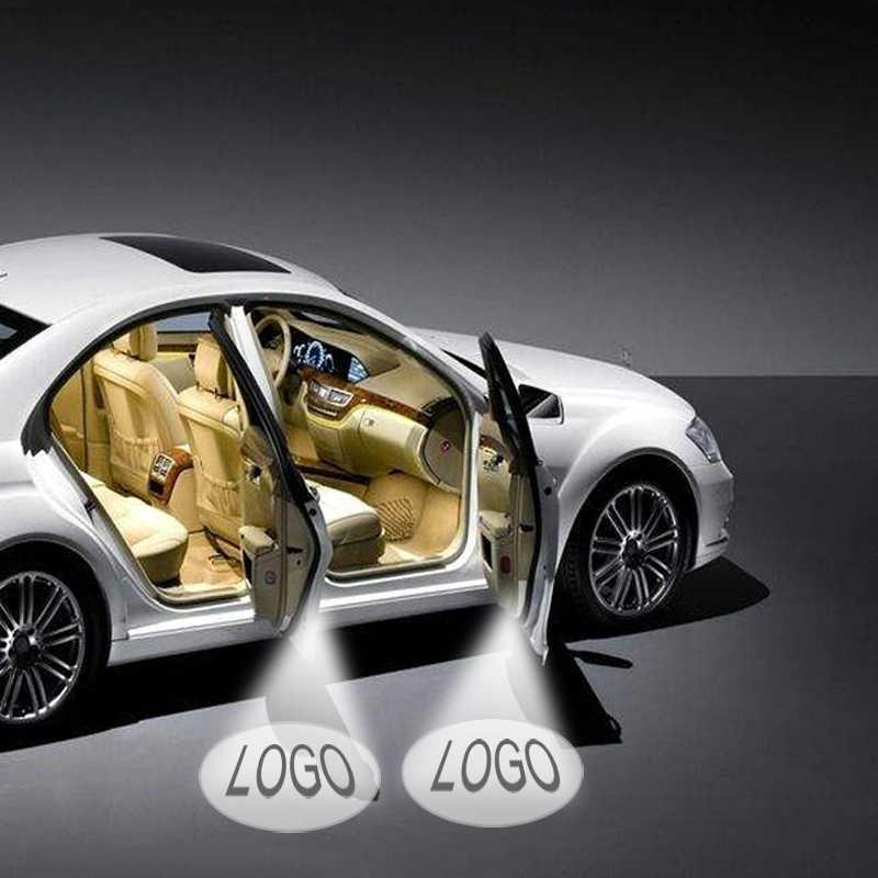 2 шт. двери автомобиля 3D Добро пожаловать свет логотип бренда для Toyota Camry 2006--2018 Авто светодио дный светодиодный лазерный проектор Призрак Тень Лампа Автомобиль Стайлинг