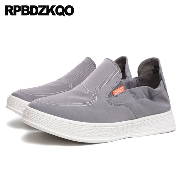 803b26acc9e Casual Driving Trainers Summer Breathable Stylish Designer Rubber Slip On  Sneakers Flats Men Shoes Hot Sale Canvas Comfort Skate-in Men's Casual  Shoes ...