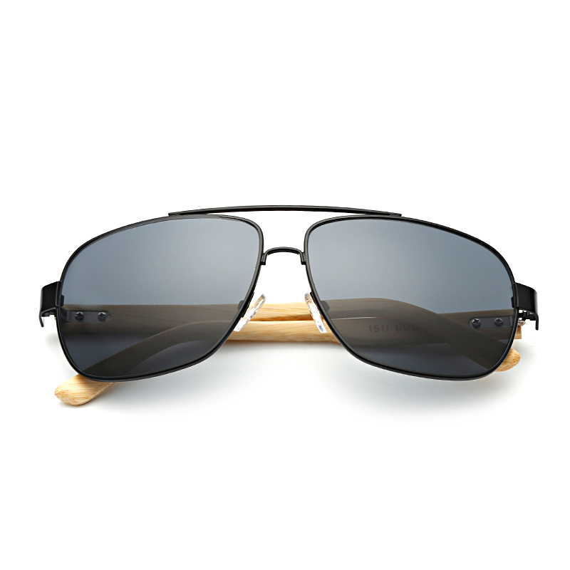df4d8227ef Bamboo Square Frame Retro Sunglasses Man Bamboo Glasses Leg Spectacles Bamboo  Frame Sunglasses Eyeglasses Unisex Goggle KP1511-in Sunglasses from Apparel  ...