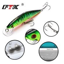 1PCS/lot 8.5cm 13.5g Fishing Lure Minnow Hard Bait with 3 Hooks Tackle 3D Lifelike Eyes Free Shipping
