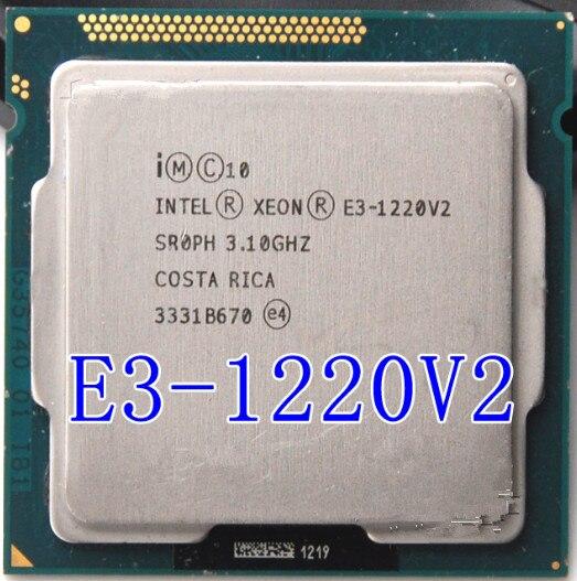 Intel Xeon E3 1220 V2 3.1 GHz 8 MB 4 1333 MHz SR0PH LGA1155 processeur d'unité centrale