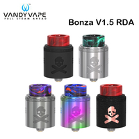Original Vandy Vape Bonza V1.5 RDA Tank 2ml Vandyvape Rebuildable Dripping Atomizer for E Cigarette Box Mod Vape
