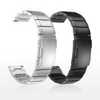 20mm 22mm metalowe ze stali nierdzewnej pasek do zegarka Samsung narzędzi aktywnych S3 S2 klasyczny opaski do huami Amazfit GTR w punkcie kontroli granicznej huawei GT pasek
