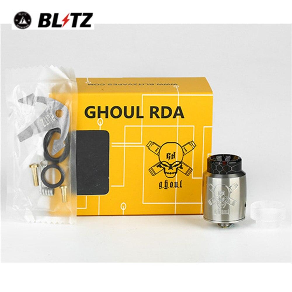 BF Ghoul RDA Vape Atomizer 810 Drip Tip 510 Thread Electronic Cigarette Rebuildable Tank RDA Vaporizer Atomizer