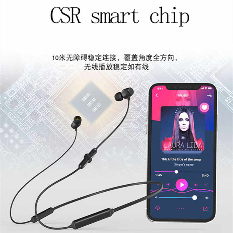 Amterbest Q5 Sport Wireless Bluetooth Earphone Earbuds For Mobile Phones Headset With Microphone Heavy Bass Headphones For Phone Aliexpress