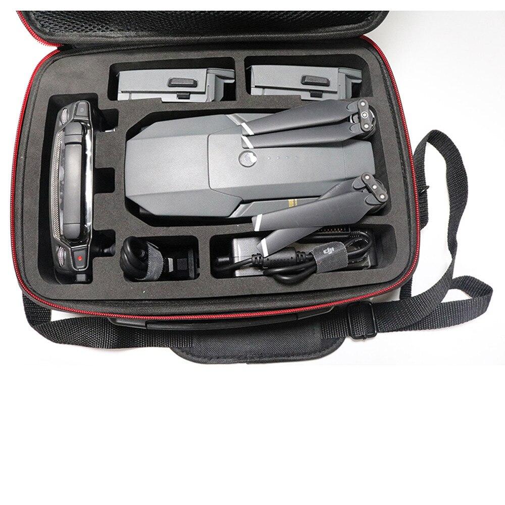 Hardshell Shoulder Waterproof box Suitcase bag for RC remote control DJI MAVIC pro FPV drone NEW Accessories Pro EVA + 1680D