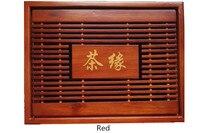 Hot Sale 2 Size Kung Fu Tea Set Natural Wood Bamboo Tea Tray Rectangular Traditional Bamboo