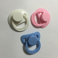 20 pcs/lot Fashion Trend Soft Silica Princess Dolls with Various Colors of Pacifiers Dolls with magnet nozzles