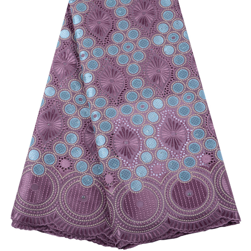 African Lace Fabric Onion Color Lowest Price Swiss Voile Lace In Switzerland High Quality Nigerian Embroidered