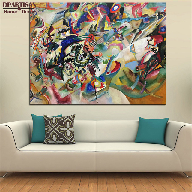 Abstract Wall Art Impressionism