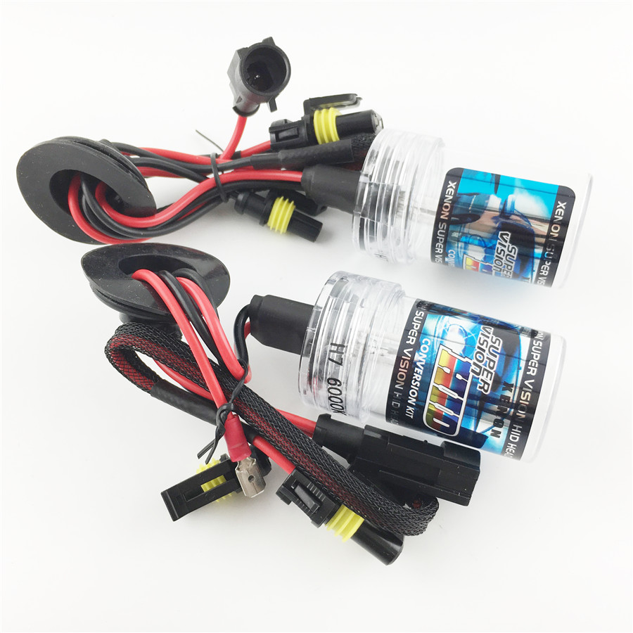 Car Styling H7 Car HID Xenon Lamp Replacement AC 12V35W Light Source Headlight  Bulb Lighting 3000K4300K 6000K 8000K 10000k 9006 75w 12v car styling hid xenon bulb headlight lamp replacement auto motorcycle light source 3000k 4300k 6000k 8000k 12000k