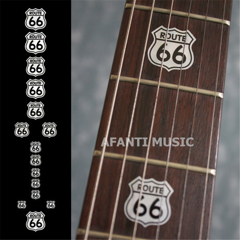 Afanti music autocollant de guitare de haute qualité/décalcomanie de coque/incrustation de marque de doigt (FPD-111)