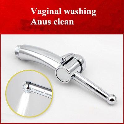 anal shower douche enema bidet shower head kit,Vaginal washing,anal clean sex toys,sex products for men women Enemator anal pump