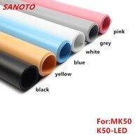 50 X67cm 6 Color PVC Material Anti Wrinkle Backdrop For Photo Studio Kits Photo Light Box