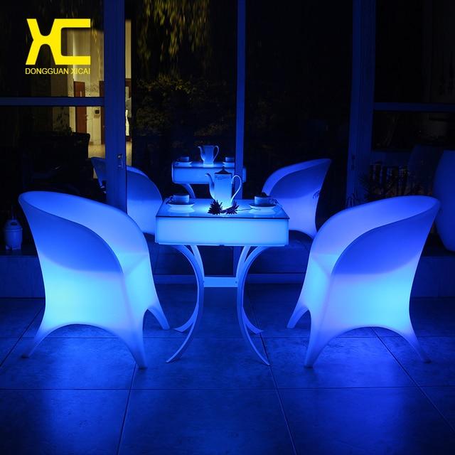 Fernbedienung Schnurlose Aufladbaren Beleuchtete LED Stuhl Set ...