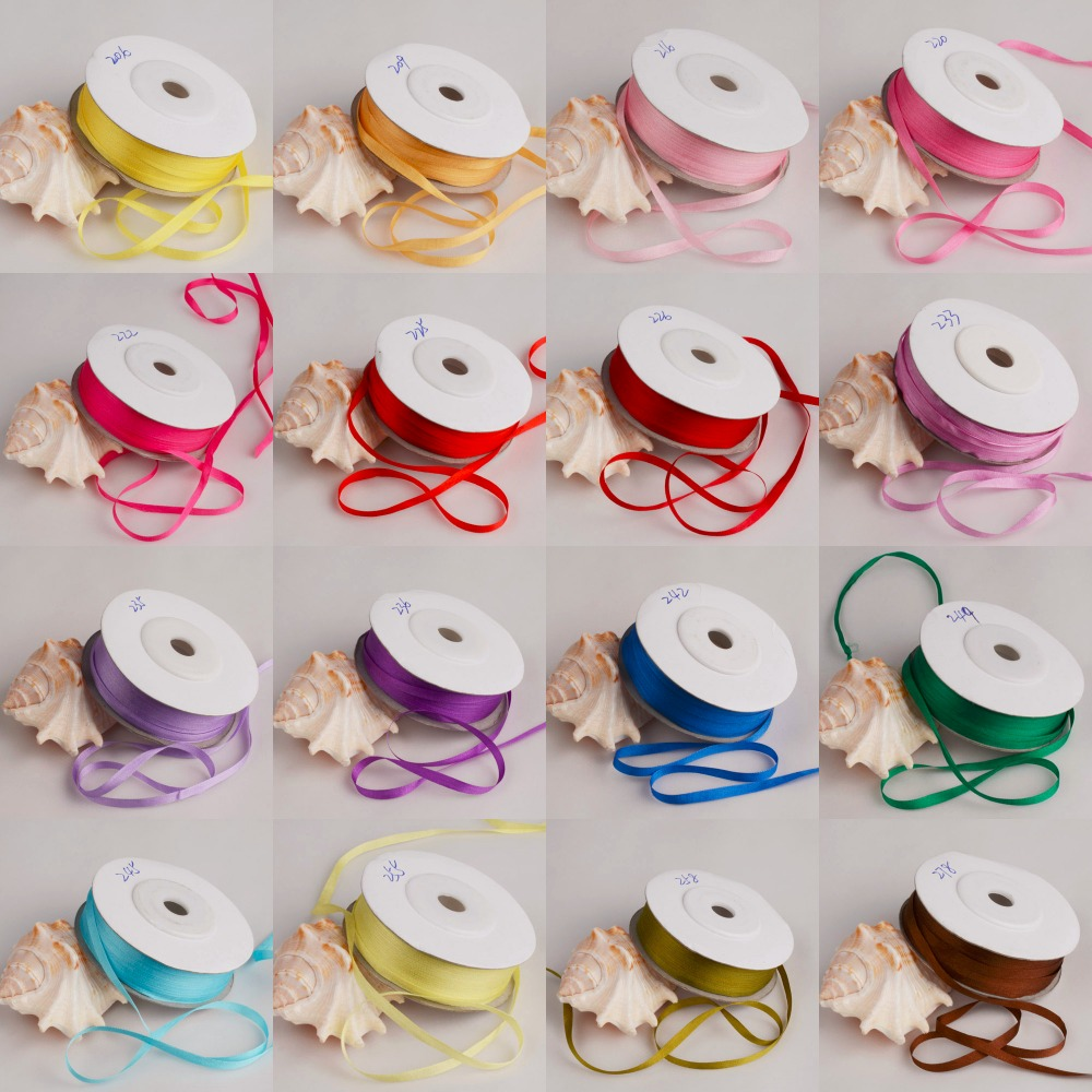 4mm Silk ribbon For Embroidery